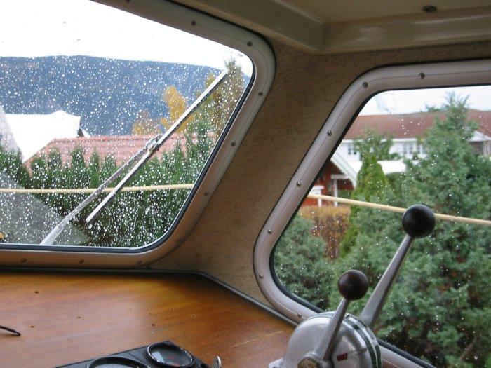 Vindusramme båt